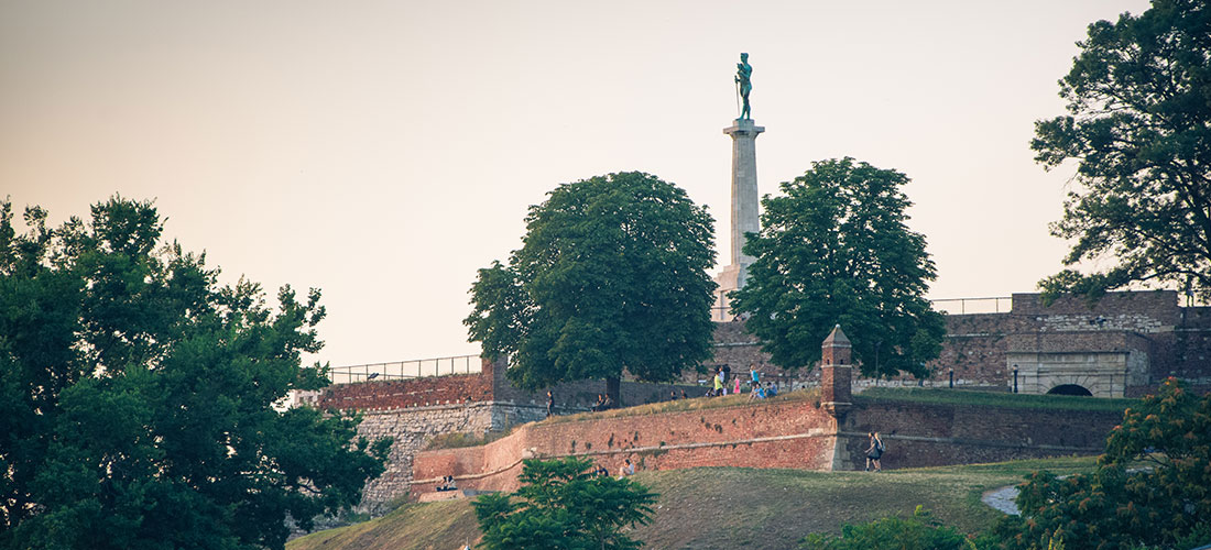 The Victor monument