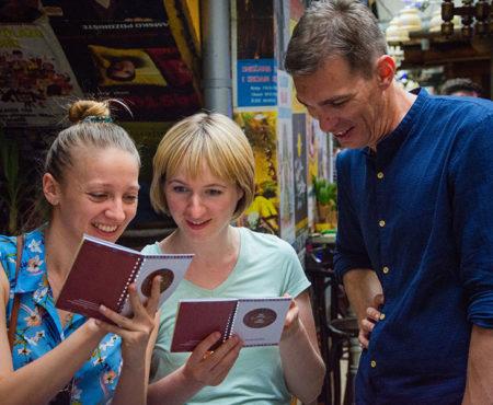 Food & Culture Tour in Belgrade memory booklets