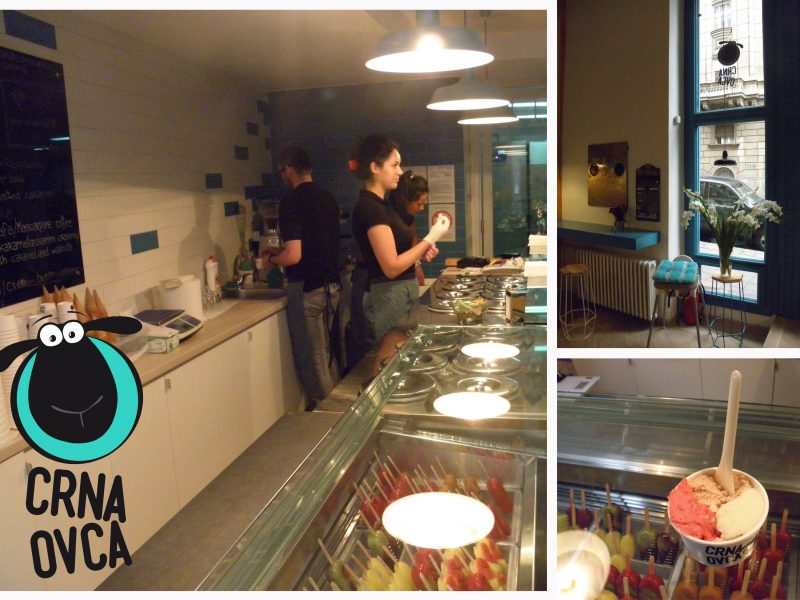 CRNA OVCA ICE CREAM SHOP