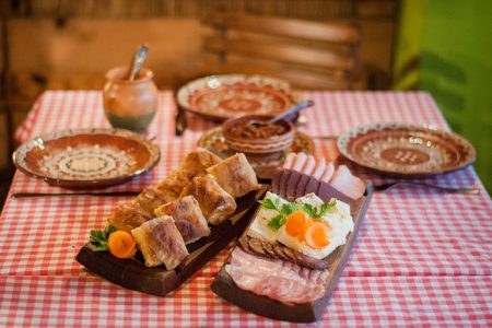Typical Appetizer and also breakfast in Serbia