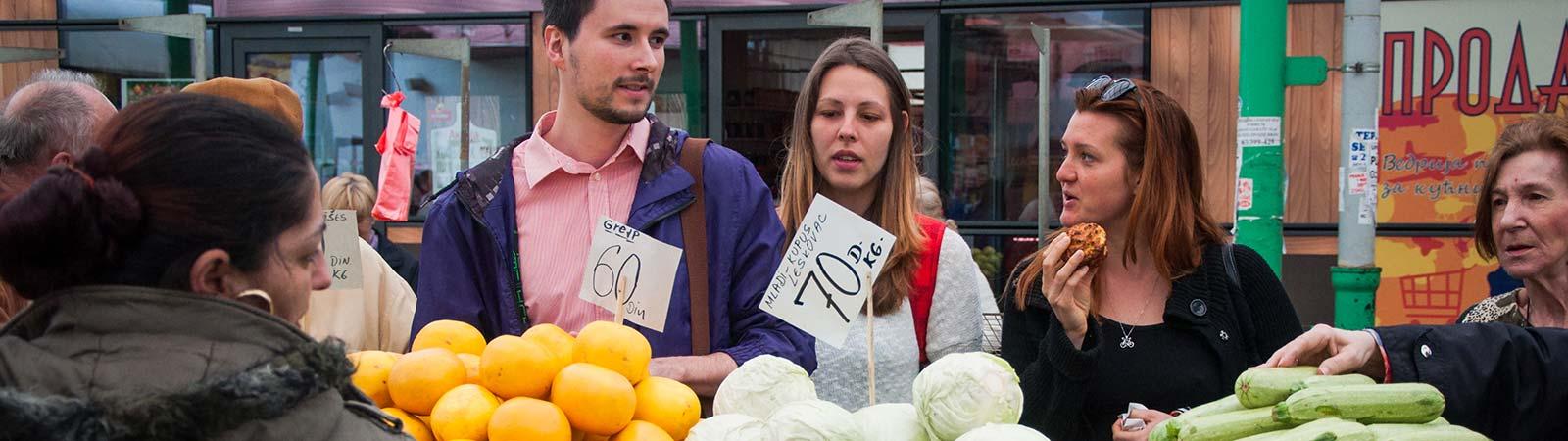 Pijaca – Lokale markt in Belgrado- organisch eten