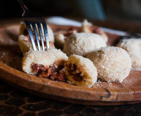 Клецки со сливами в белградской кафане