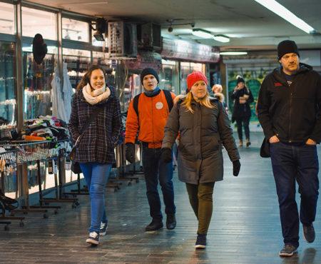 Erkundung von versteckte Orten des Belgrads, Street food tour Belgrade
