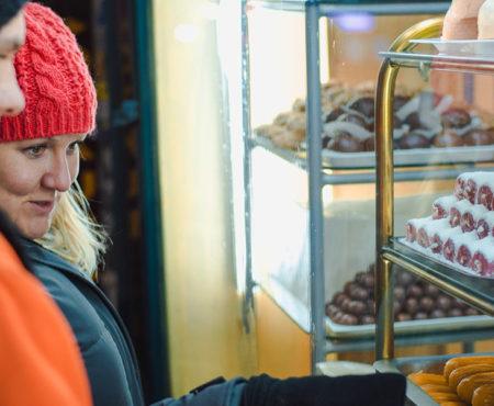 Lokale Süßigkeiten, Street food tour Belgrade